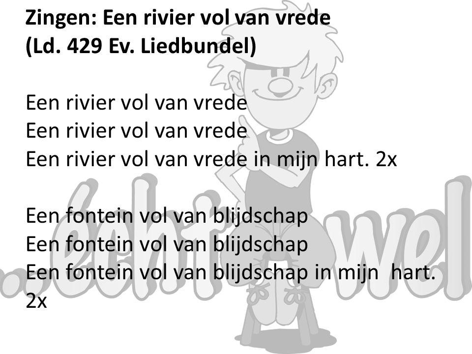 Zingen: Een rivier vol van vrede