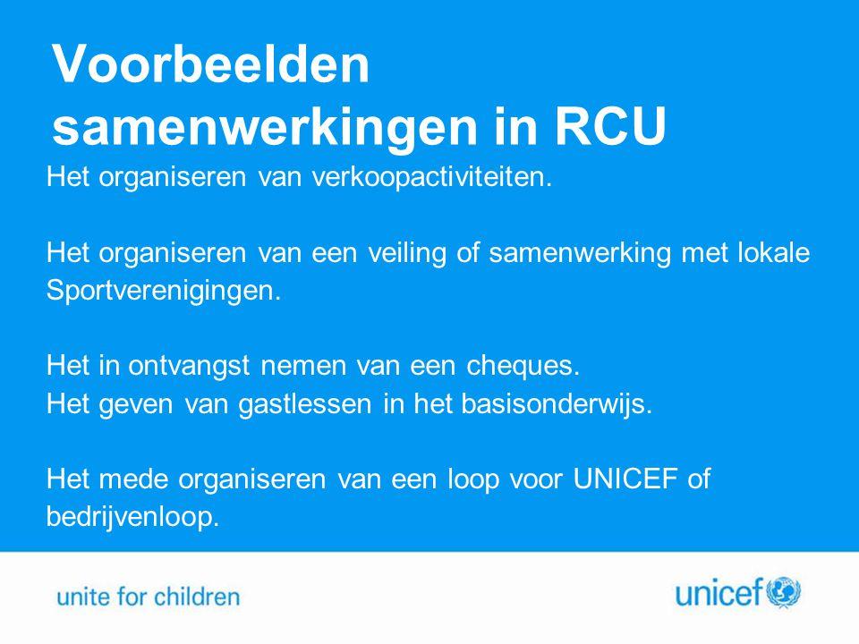 Voorbeelden samenwerkingen in RCU