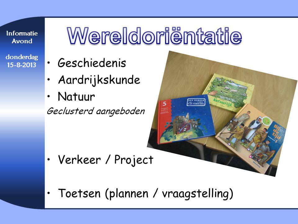 Wereldoriëntatie Geschiedenis Aardrijkskunde Natuur Verkeer / Project