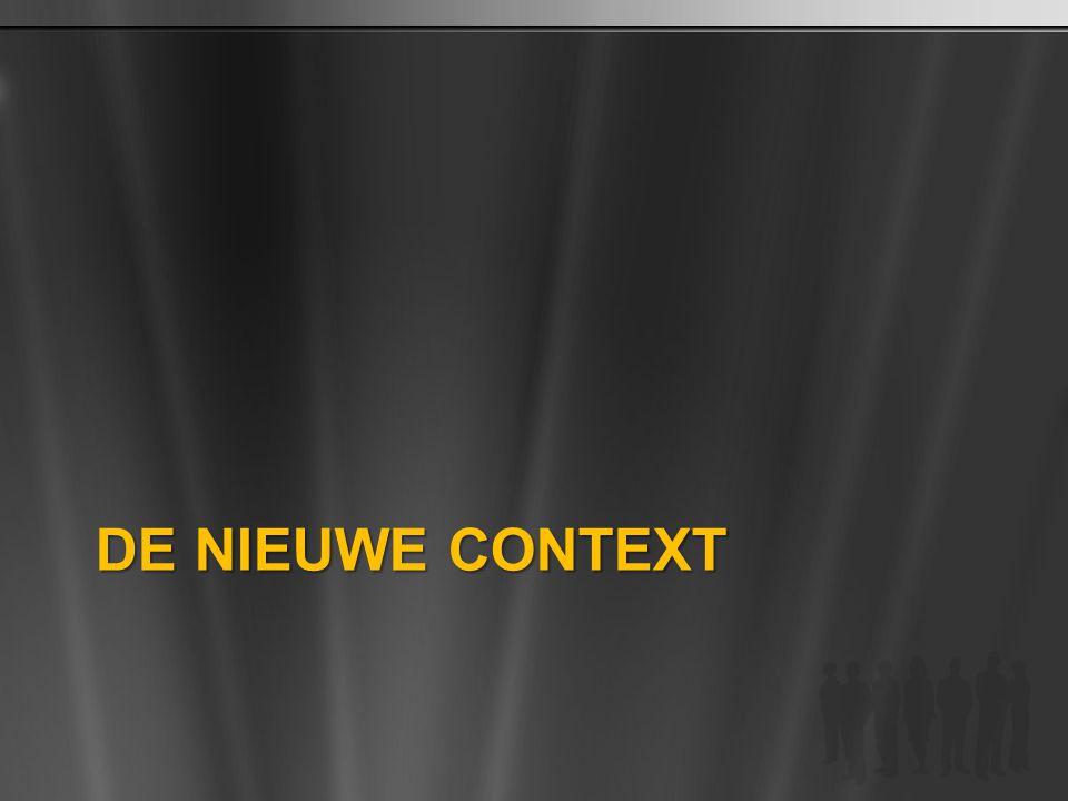 BPIO TDM Customer Deck 4/3/2017 De Nieuwe Context