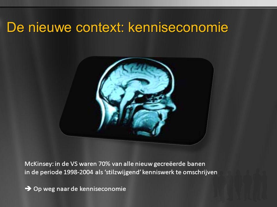 De nieuwe context: kenniseconomie