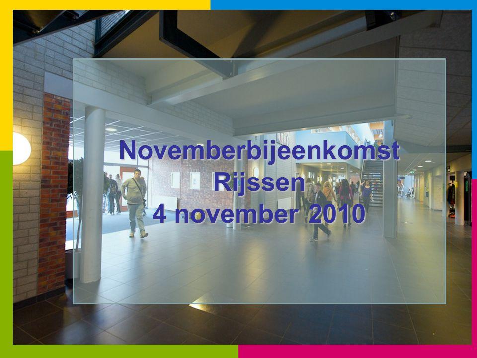 Novemberbijeenkomst Rijssen