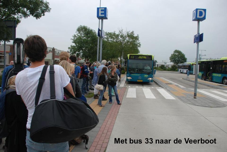 Met bus 33 naar de Veerboot