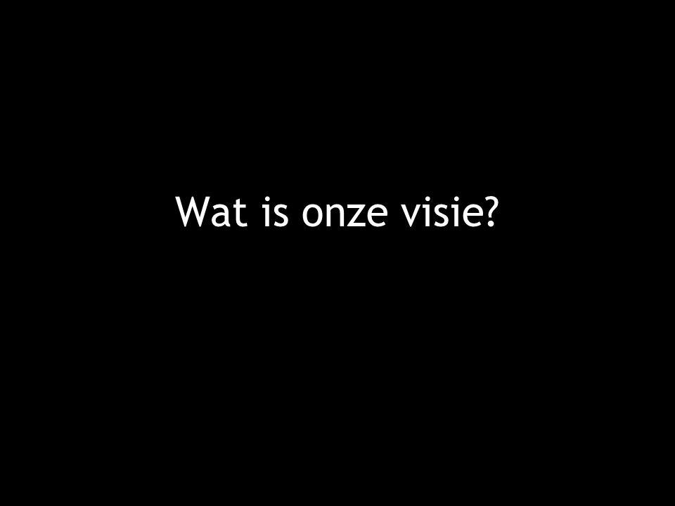 Wat is onze visie