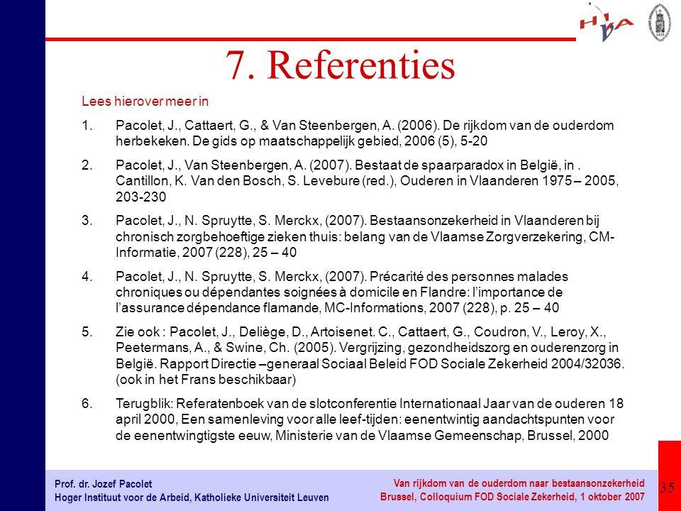 7. Referenties Lees hierover meer in