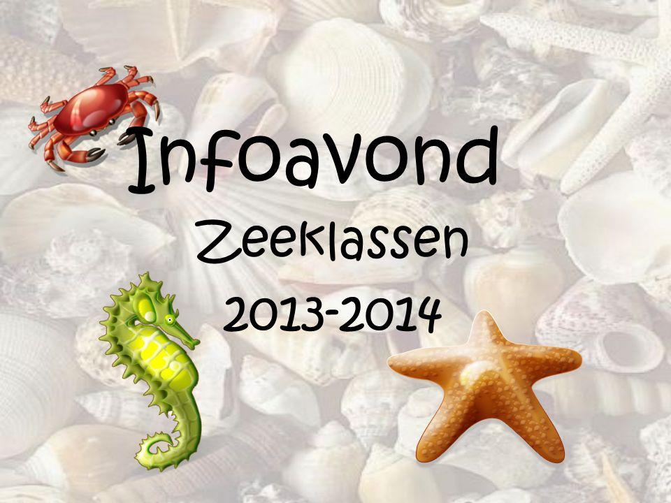 Infoavond Zeeklassen 2013-2014