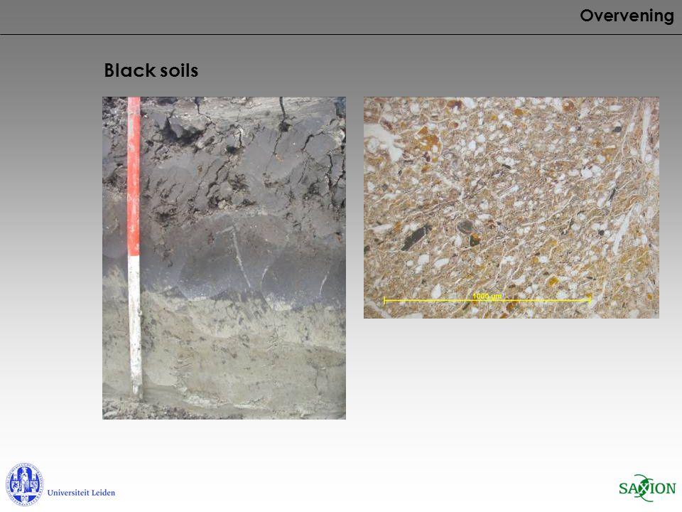Overvening Black soils
