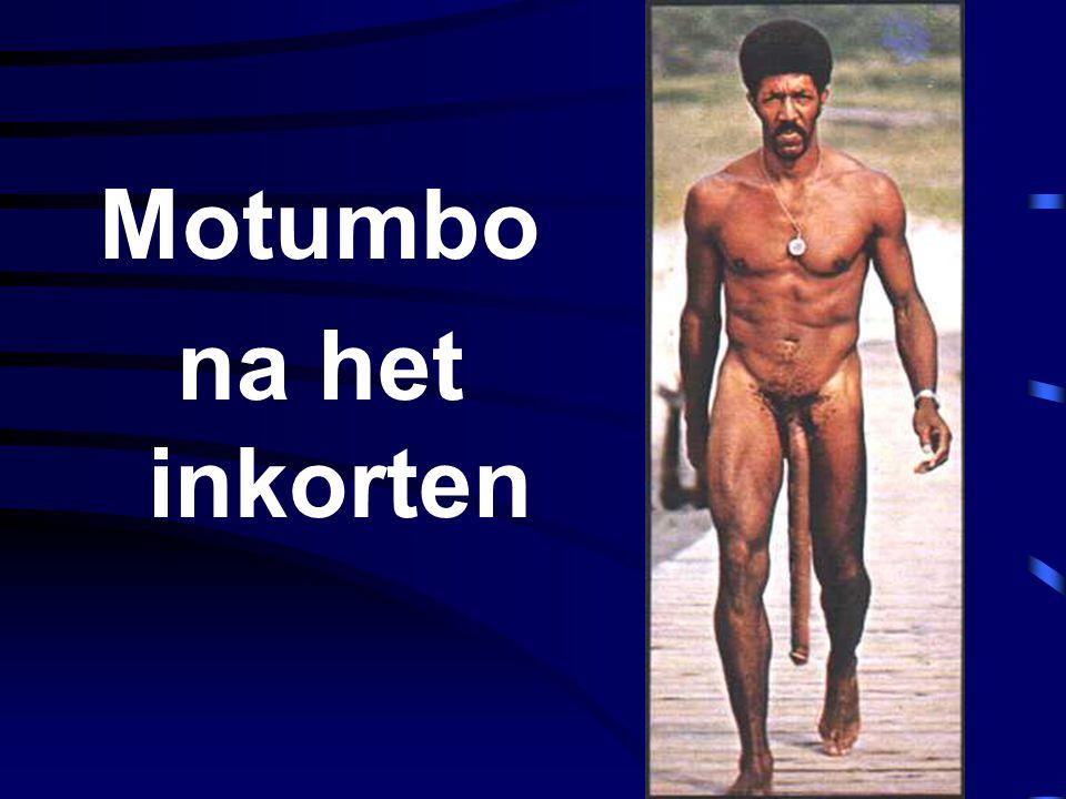 Motumbo na het inkorten