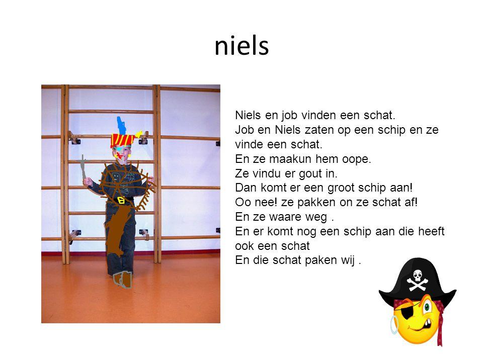 niels Niels en job vinden een schat.