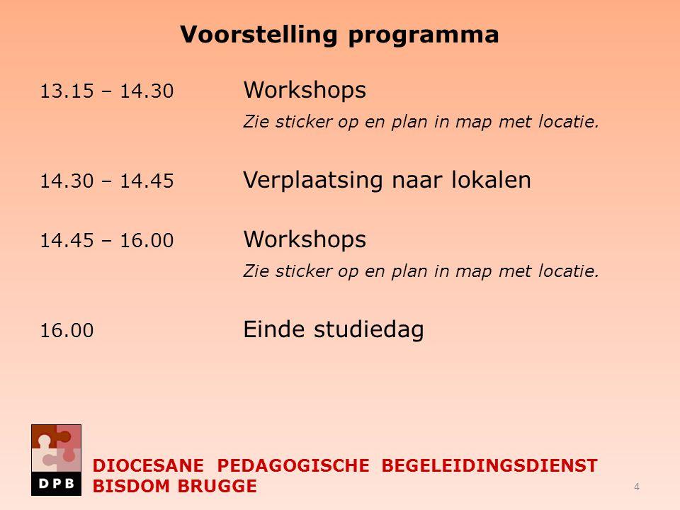 Voorstelling programma