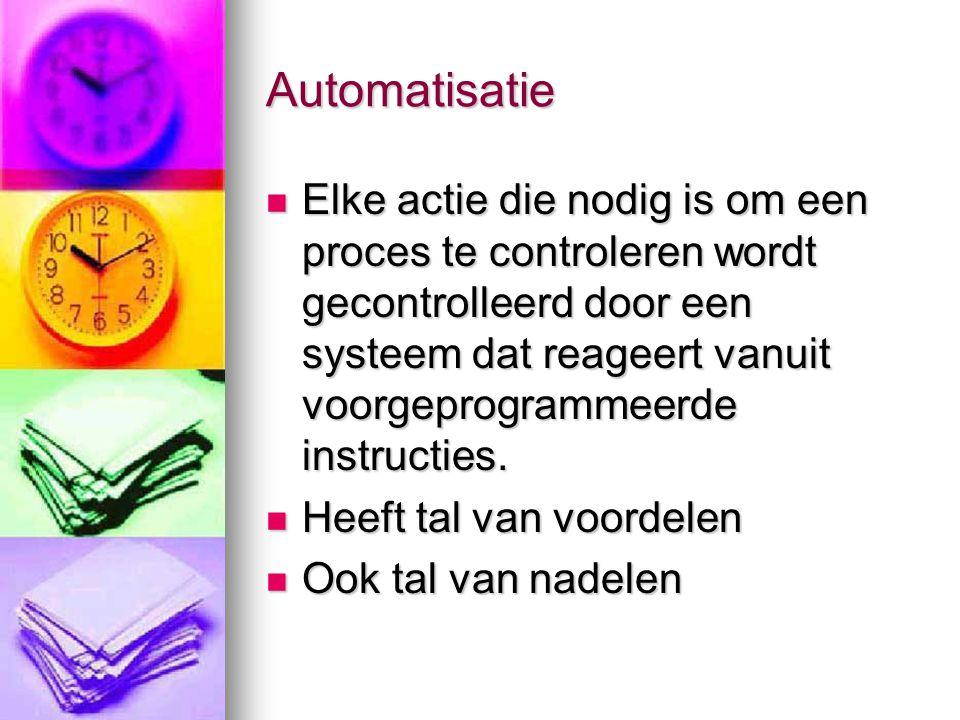 Automatisatie