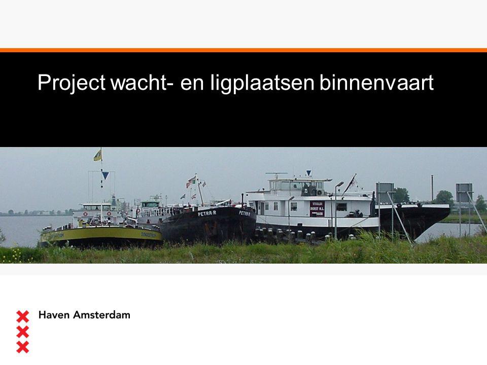 Project wacht- en ligplaatsen binnenvaart
