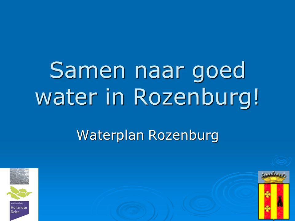 Samen naar goed water in Rozenburg!