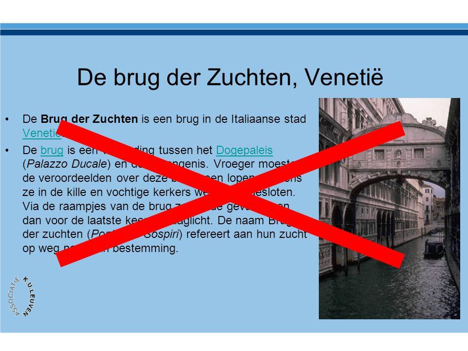 De brug der Zuchten, Venetië