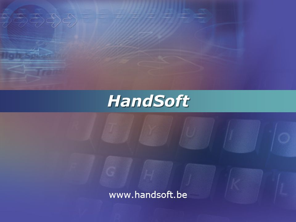HandSoft www.handsoft.be