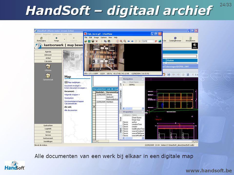 HandSoft – digitaal archief