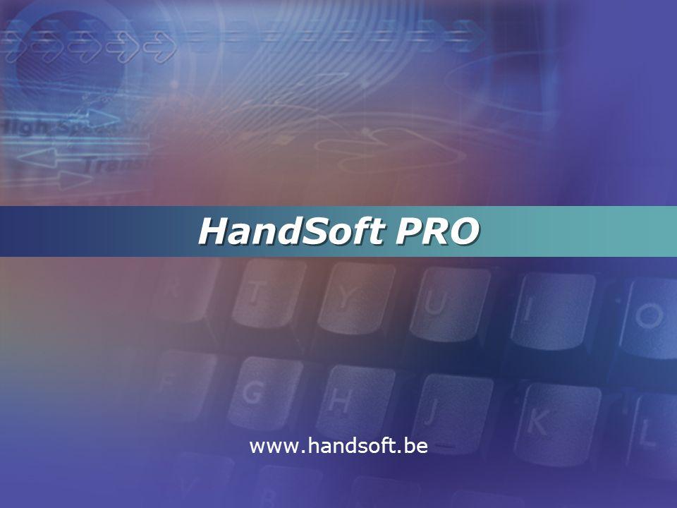 HandSoft PRO www.handsoft.be