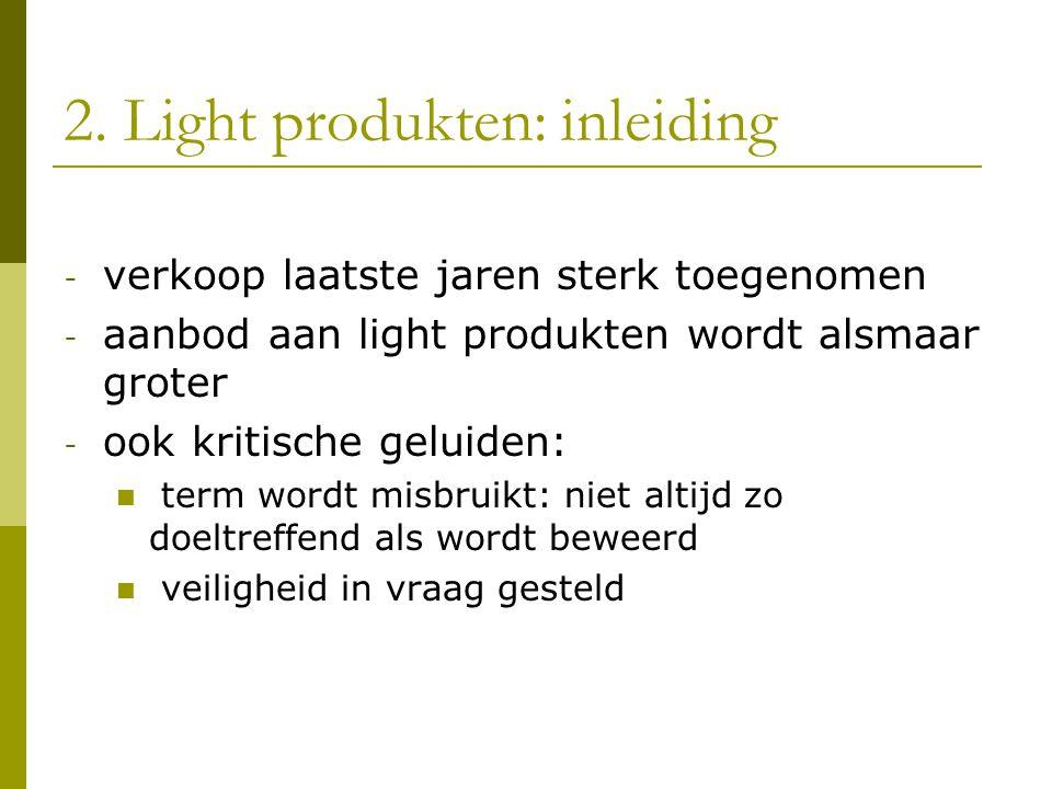 2. Light produkten: inleiding