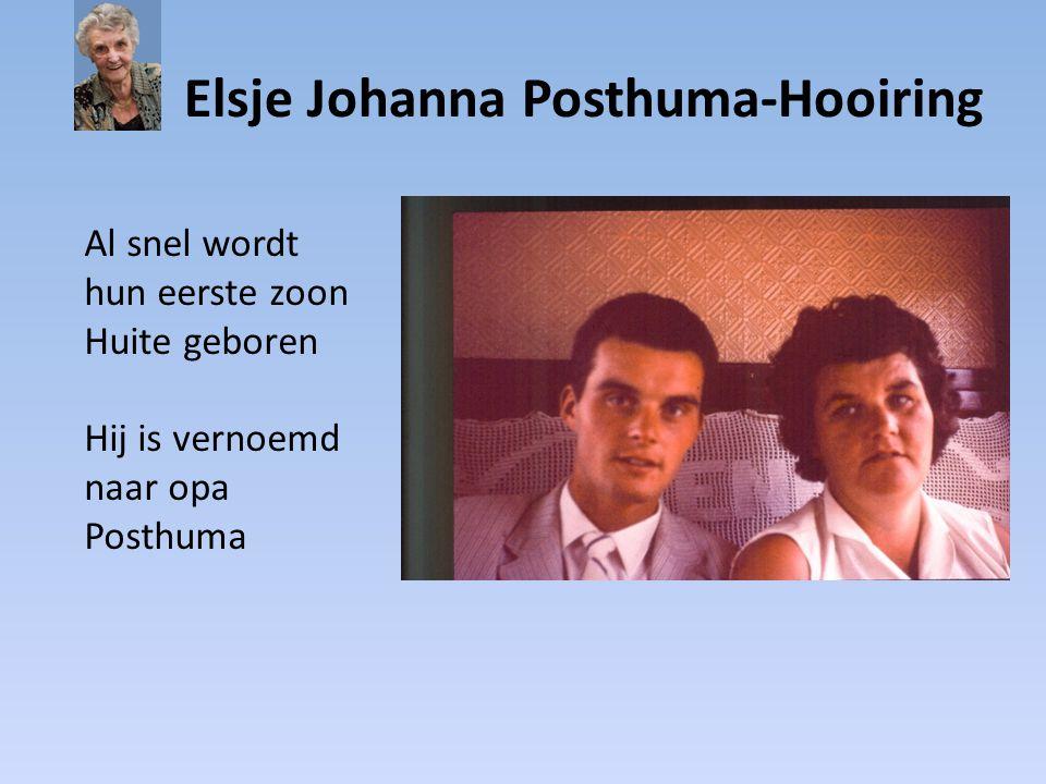 Elsje Johanna Posthuma-Hooiring