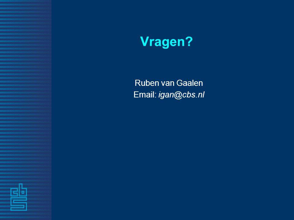 Vragen Ruben van Gaalen