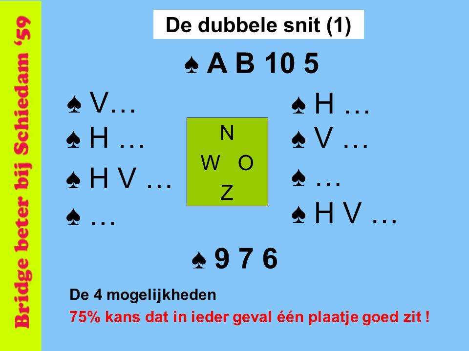 ♠ A B 10 5 ♠ V… ♠ H … ♠ H … ♠ V … ♠ H V … ♠ … ♠ … ♠ H V … ♠ 9 7 6