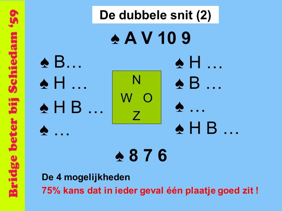 ♠ A V 10 9 ♠ B… ♠ H … ♠ H … ♠ B … ♠ H B … ♠ … ♠ … ♠ H B … ♠ 8 7 6