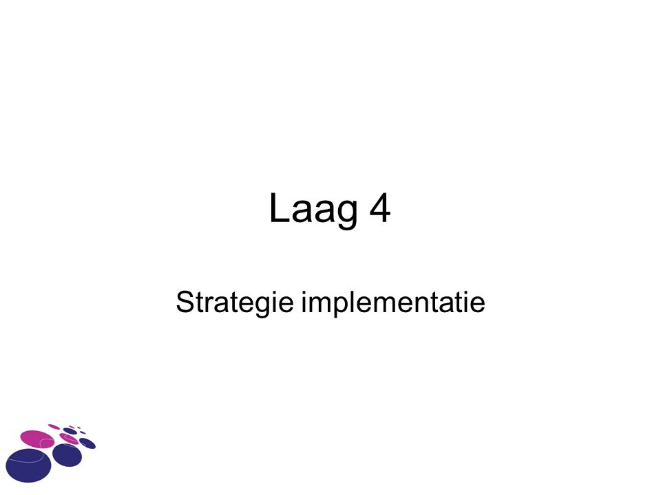 Strategie implementatie