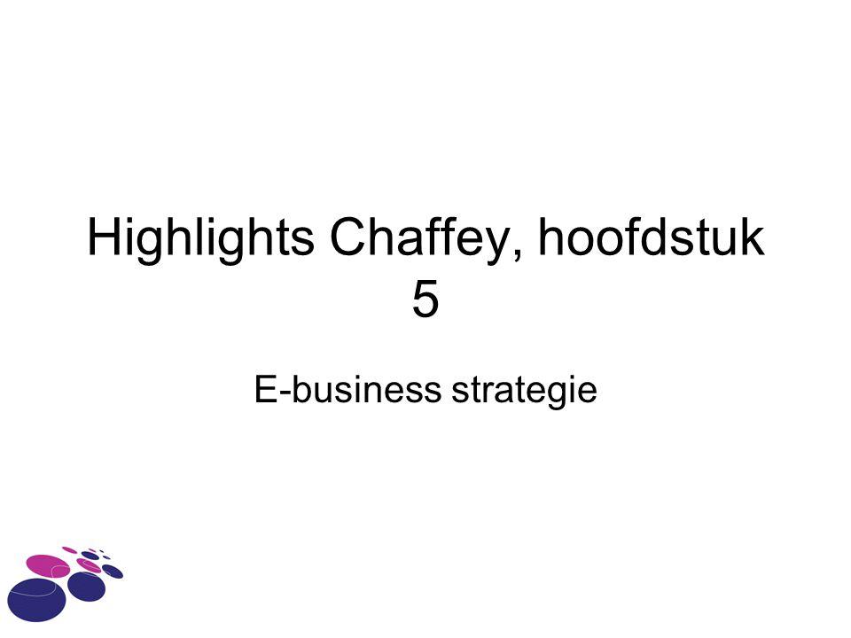 Highlights Chaffey, hoofdstuk 5