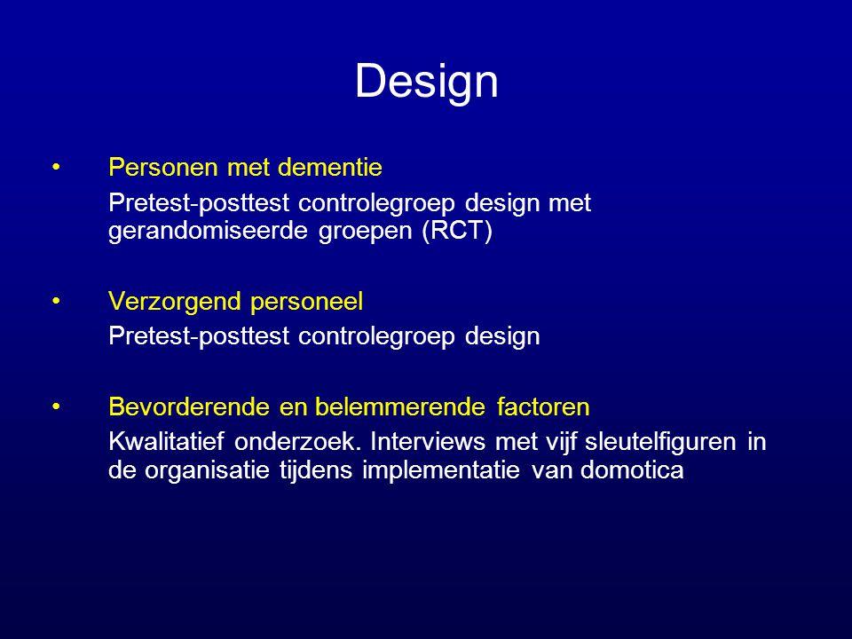 Design Personen met dementie