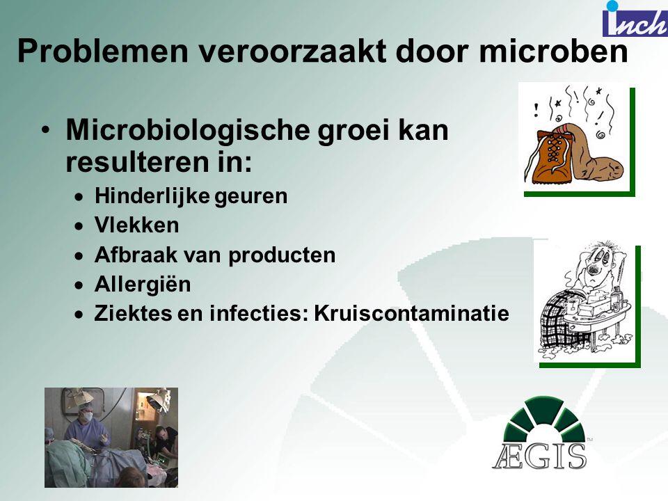 Problemen veroorzaakt door microben