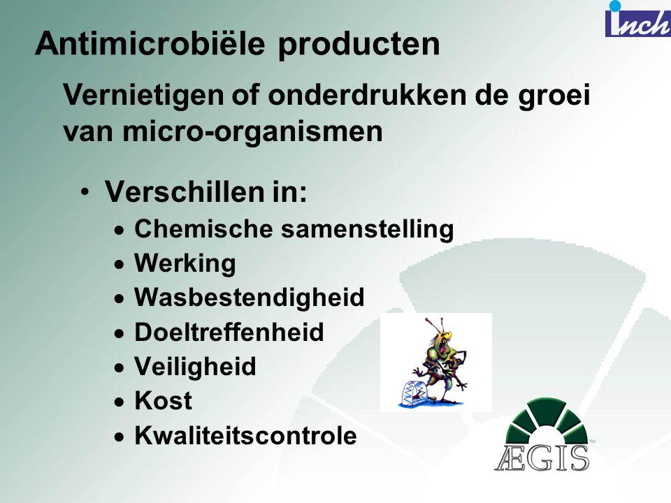 Antimicrobiële producten