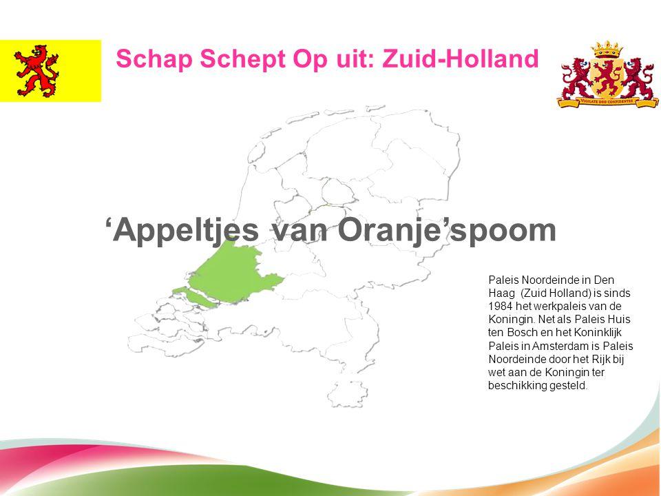 Schap Schept Op uit: Zuid-Holland 'Appeltjes van Oranje'spoom