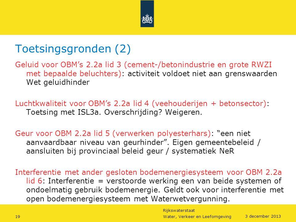 Toetsingsgronden (2)