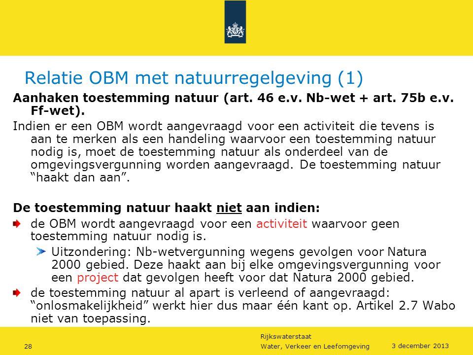 Relatie OBM met natuurregelgeving (1)