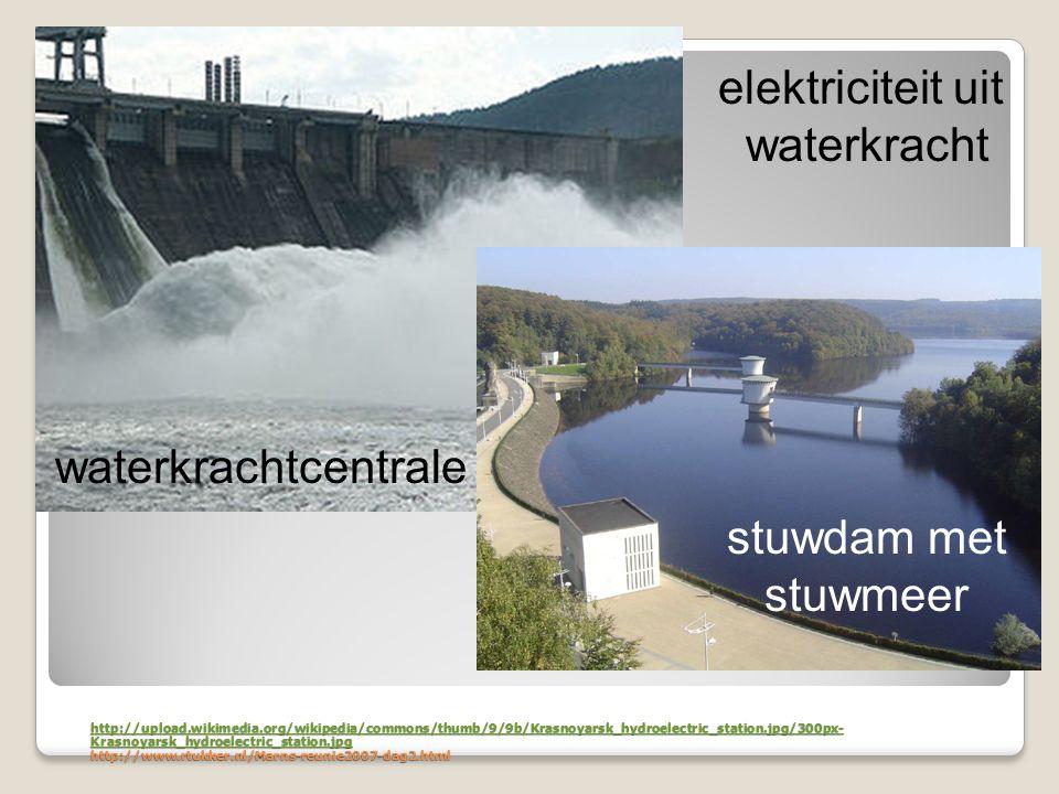elektriciteit uit waterkracht waterkrachtcentrale stuwdam met stuwmeer