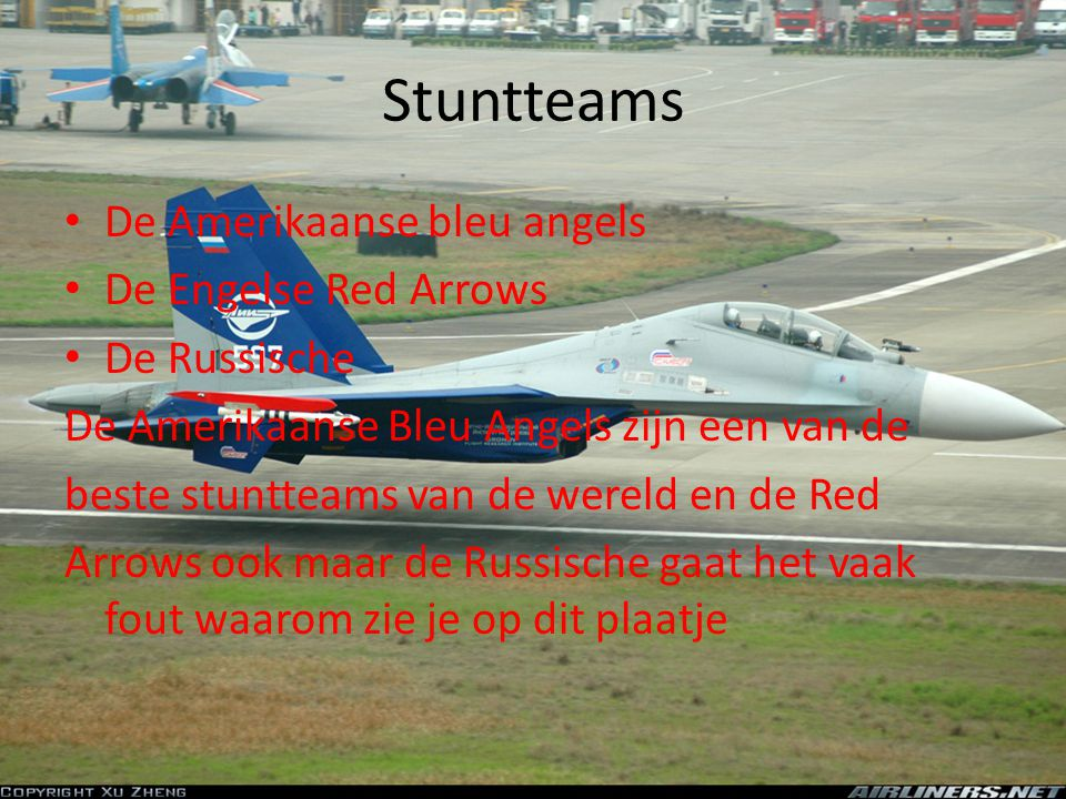 Stuntteams De Amerikaanse bleu angels De Engelse Red Arrows
