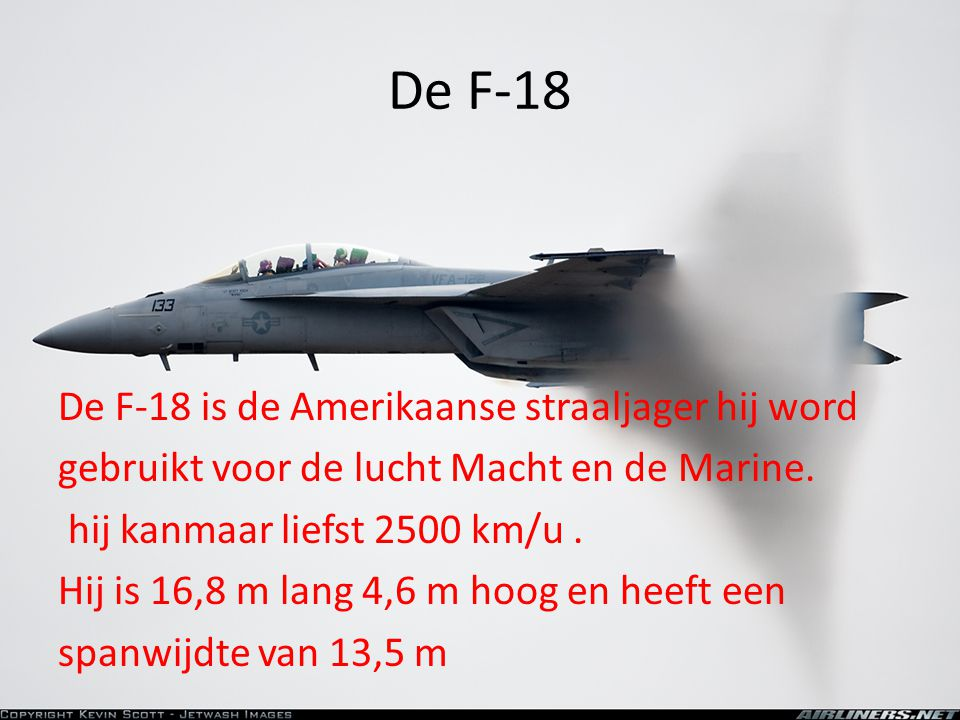 De F-18