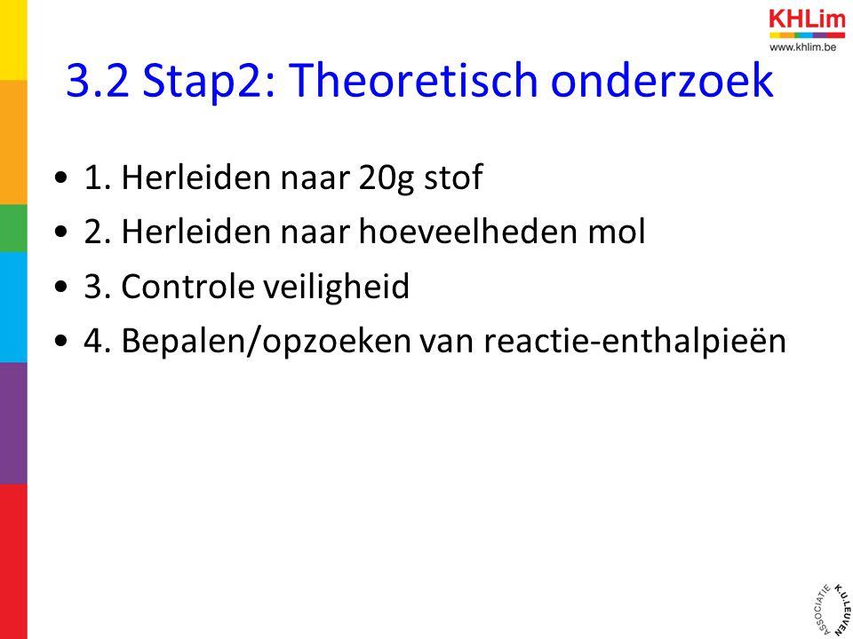 3.2 Stap2: Theoretisch onderzoek