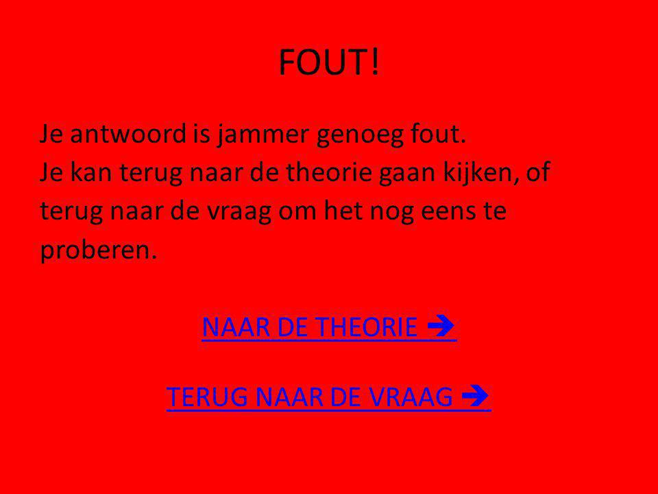 FOUT!