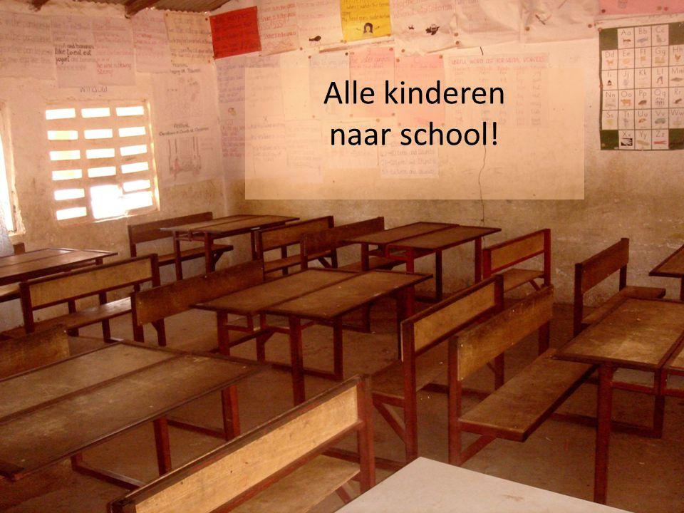 Alle kinderen naar school!