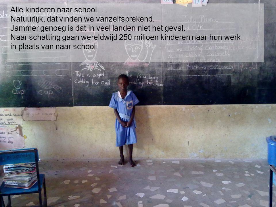 Alle kinderen naar school….