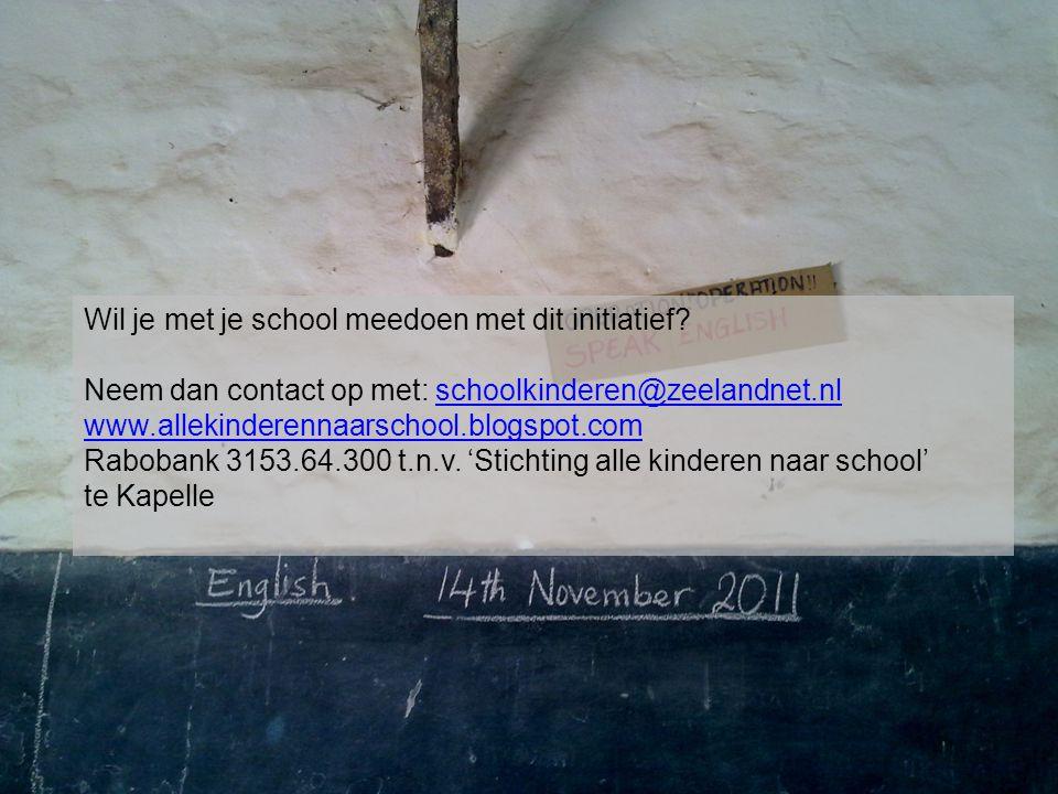 Wil je met je school meedoen met dit initiatief