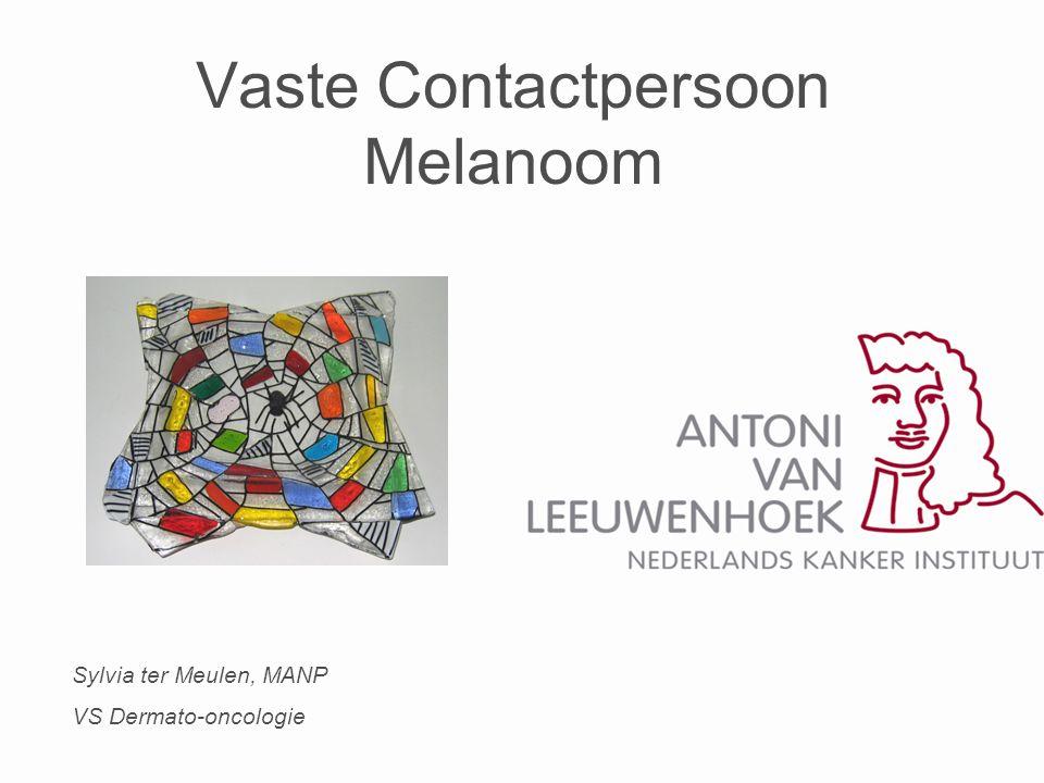 Vaste Contactpersoon Melanoom