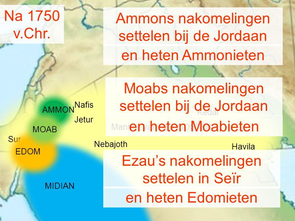 settelen bij de Jordaan