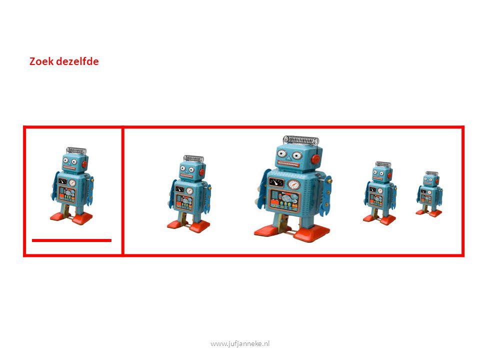 Zoek dezelfde www.jufjanneke.nl