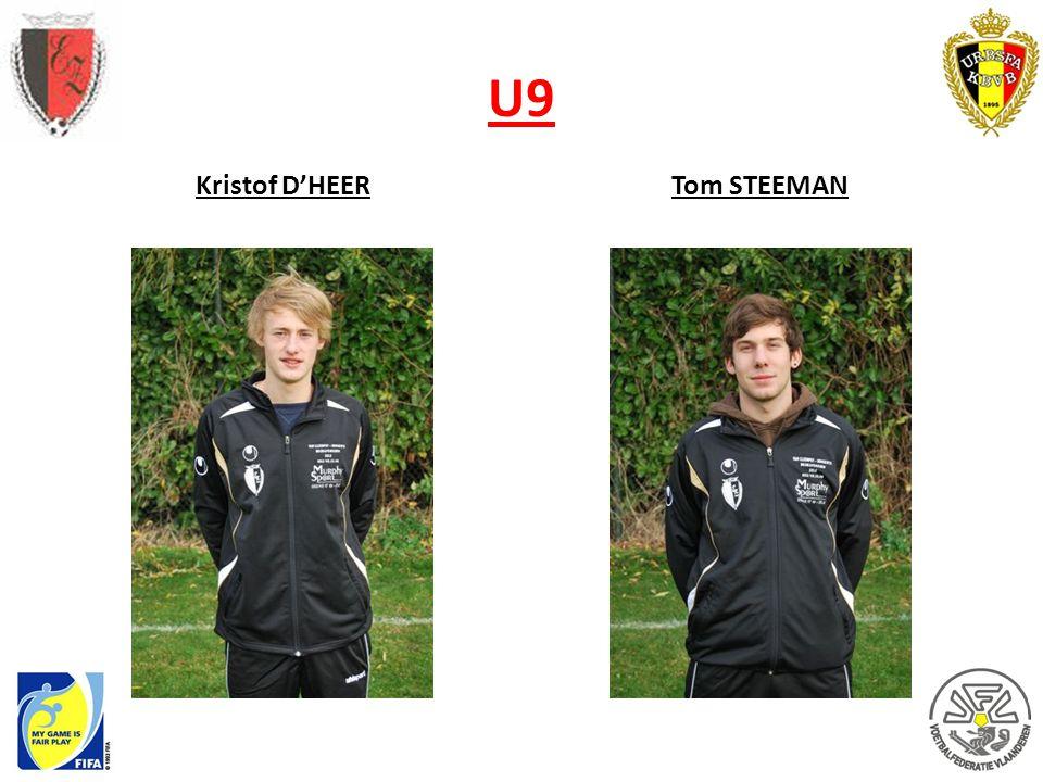 U9 Kristof D'HEER Tom STEEMAN
