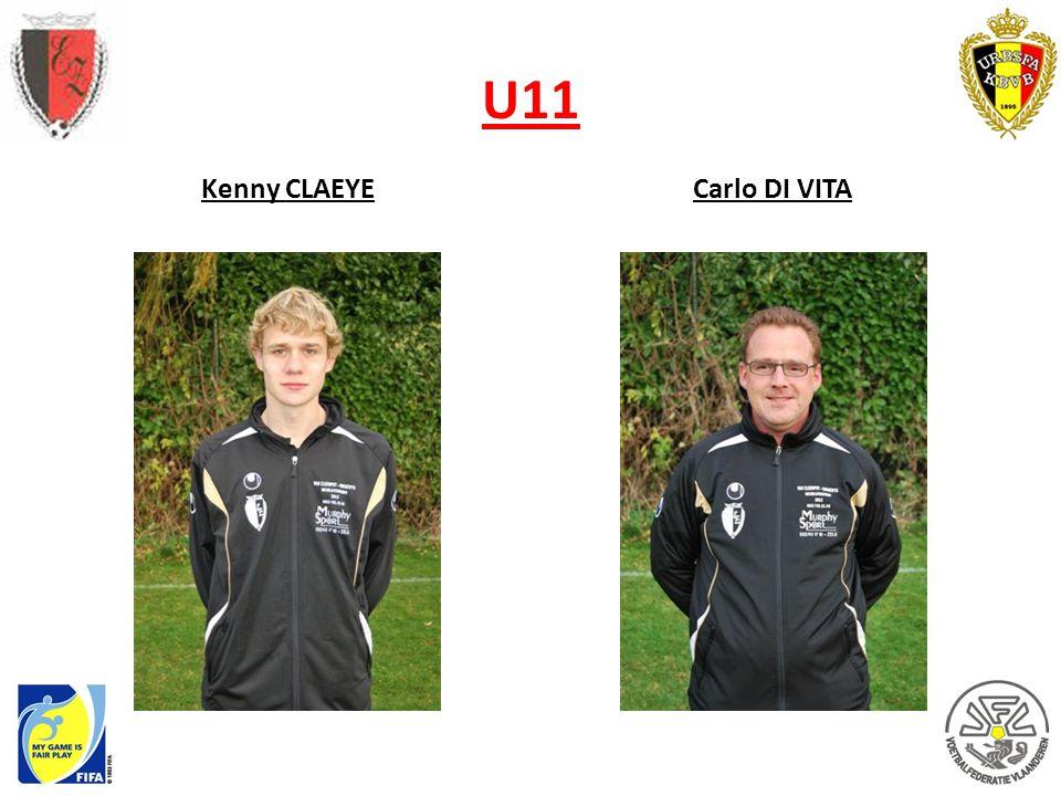 U11 Kenny CLAEYE Carlo DI VITA