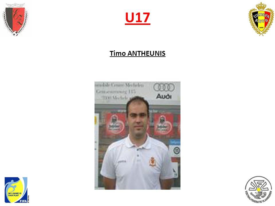U17 Timo ANTHEUNIS