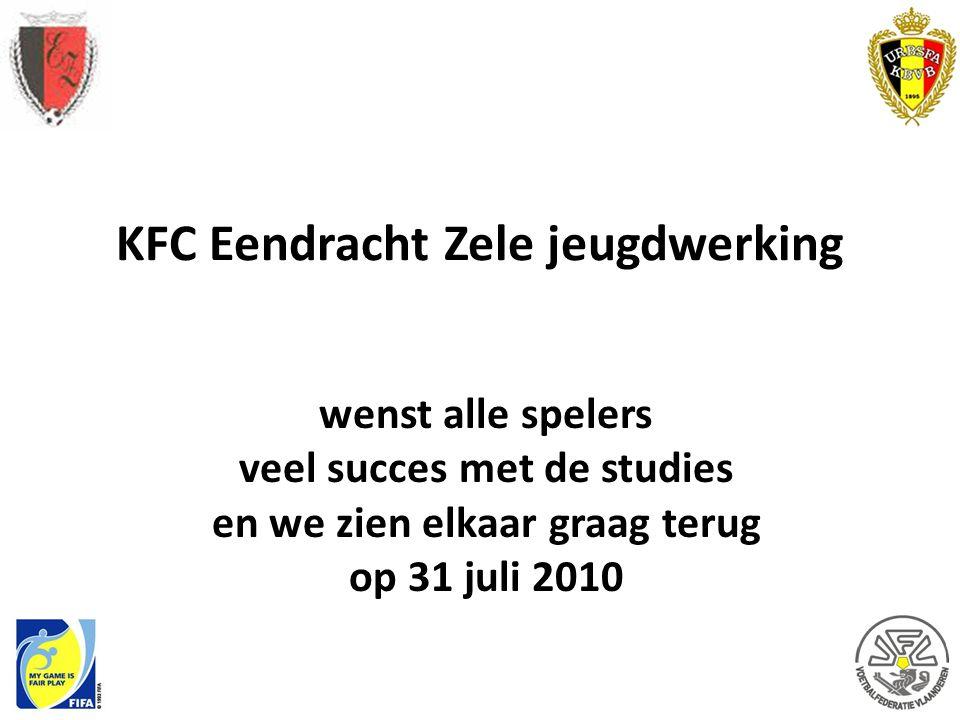 KFC Eendracht Zele jeugdwerking