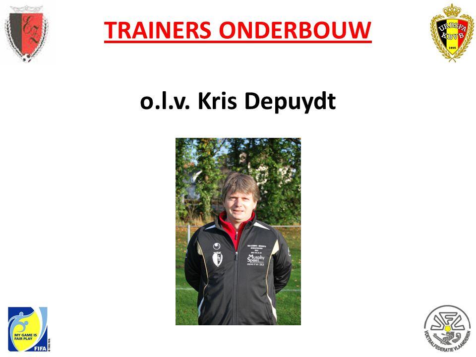 TRAINERS ONDERBOUW o.l.v. Kris Depuydt